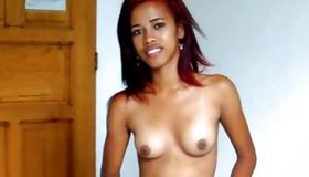 Red haired fancy bitch is drilled with huge dick